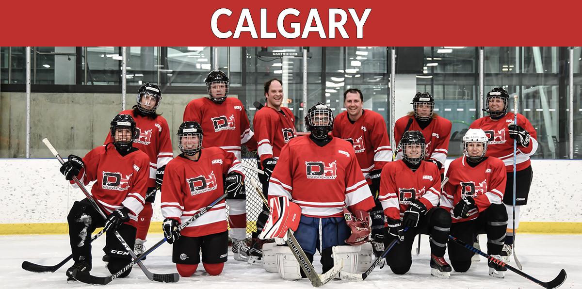 Discover Hockey Calgary Learn To Play Hockey Classes Discover Hockey