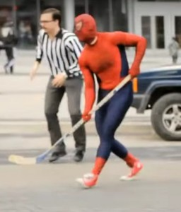 SpidermanHockey