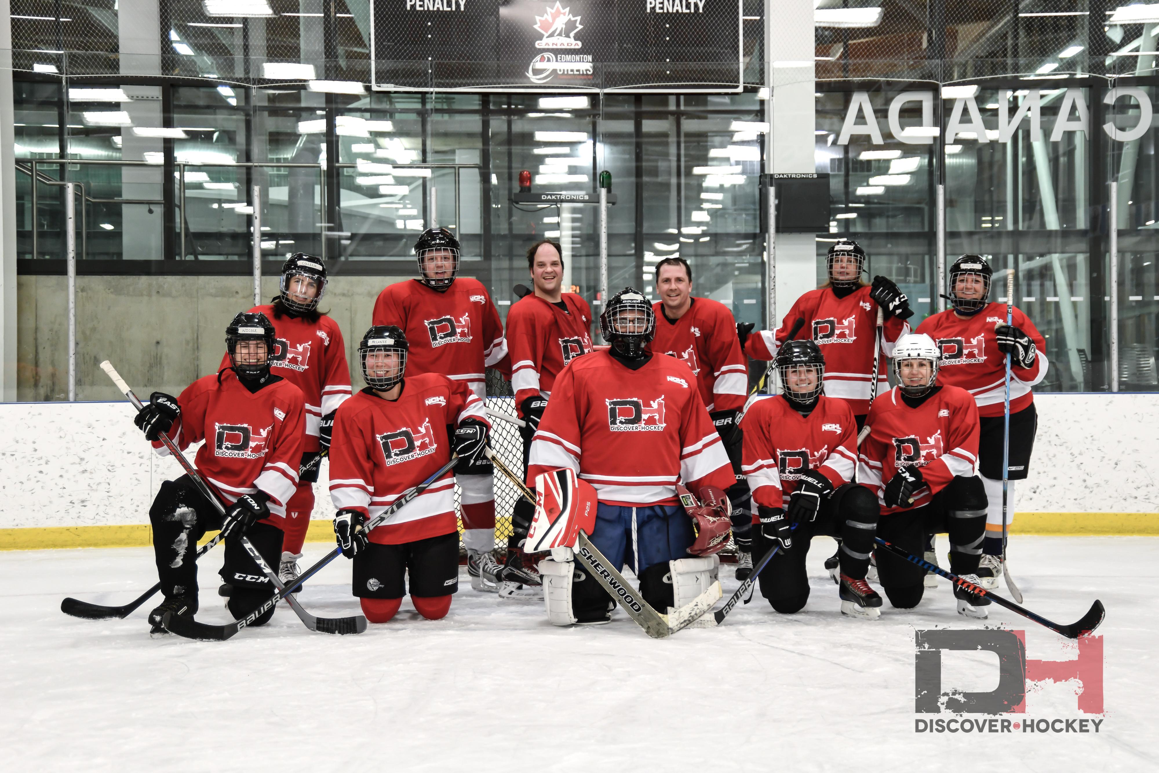 Adult beginner hockey — pic 8