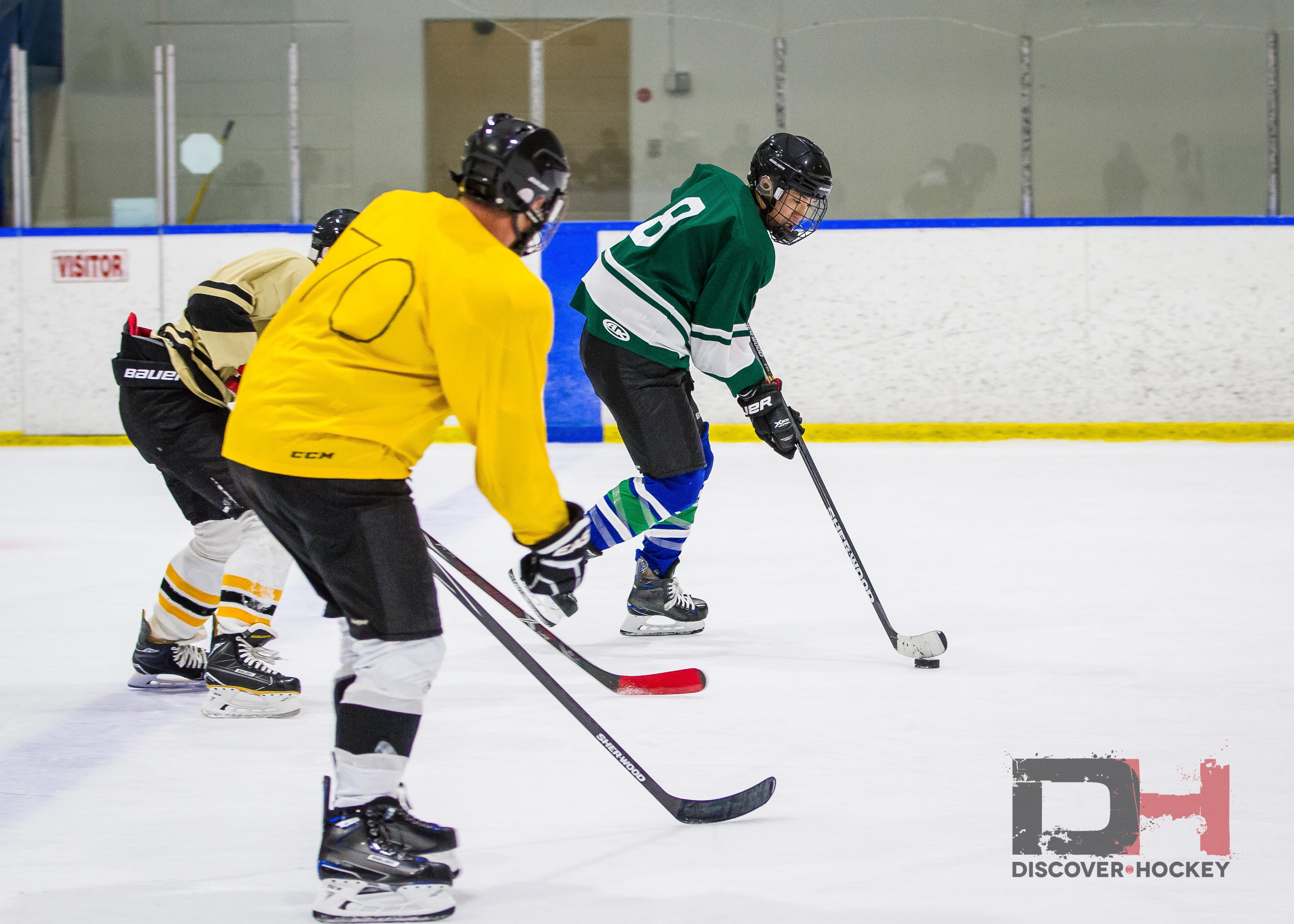 Femdom adult beginner hockey lil